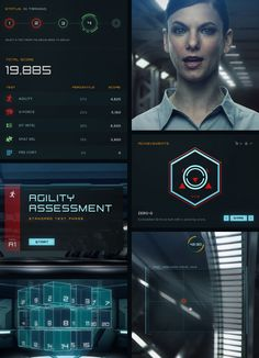 Project Prometheus: Training Center by Nick Boes, via Behance