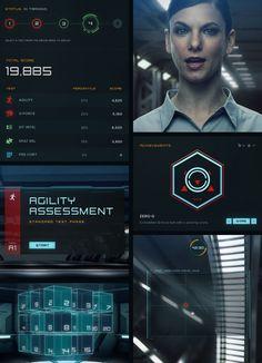 Project Prometheus: Training Center by Nick Boes, via Behance