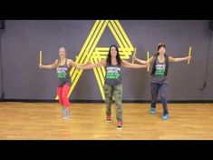 Fun for kids zumba. Simple and fun way of jazzing up your routine and especially for kids or in fact for anyone who needs extra stimulation.Could be good for some SEN kids too. Zumba Workout Videos, Zumba Videos, Fun Workouts, Dance Workouts, Step Workout, Workout Log, Girlfriend Avril, Refit Revolution, Cardio Drumming