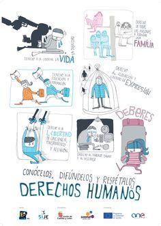 Derechos humanos.- me encanta que también marquen los deberes