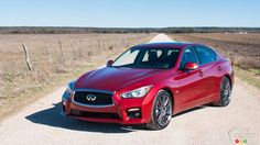 Awesome Infiniti 2017: 2016 Infiniti Q50 Red Sport 400 Review | Car Reviews | Auto123 Check more at http://cars24.top/2017/infiniti-2017-2016-infiniti-q50-red-sport-400-review-car-reviews-auto123/