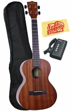 Kala MK-T Makala Tenor Ukulele Bundle with Gig Bag, Tuner, and Polishing Cloth - Black Accents by Kala. $83.00. Bundle includes Kala MKA-T Limited Edition Makala-Style Tenor Ukulele, Gig Bag, Tuner, and Polishing Cloth. The Kala MKA-T is a new take on the extremely popular line of beloved Makala ukes. This classic ukulele includes all the great Makala features Kala fans have grown to love as well as some new appointments only found on the MKA-T model. You'll get the incre...