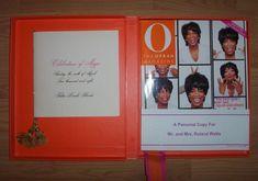 O The Oprah Magazine May 2002 & Invite Celebration With Box O The Oprah Magazine, Invitations, Invite, Trinidad And Tobago, Celebration, Box, Snare Drum, Save The Date Invitations, Shower Invitation