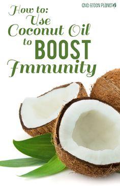 http://onegr.pl/1yz2Tay #vegan #vegetarian #natural #coconut #oil #boost #immunity #healthy
