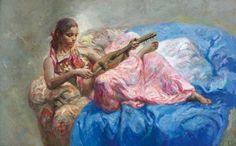 Jose Royo 1941 | Spanish Impressionist painter