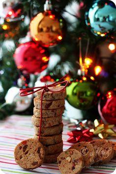 Eggless Fruitcake-Cookies