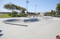 Carlsbad Skatepark - This is a good skatepark for the beginner and for those looking for a mellow place to skate.