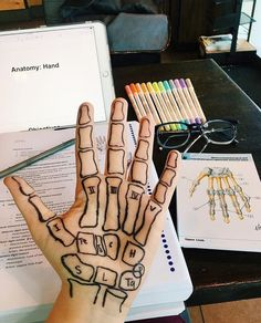 Me Anatomy Hand stay home stay safe Medical Students, Medical School, Nursing Students, Vie Motivation, Study Motivation, Medicine Notes, Medical Anatomy, Grey's Anatomy, School Study Tips