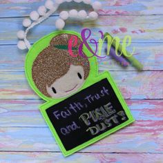 Fairy Chalkboard: fabrics may differ from those shown