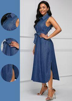 Tight Dresses, Sexy Dresses, Dresses For Sale, Dresses Online, Denim Dresses, Dress Sale, Women's Fashion Dresses, Dress Outfits, Latest Dress For Women