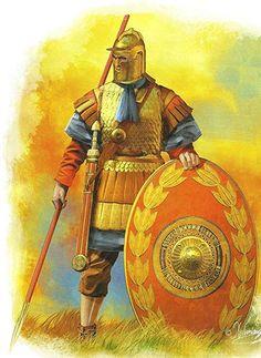 https://www.kickstarter.com/projects/cristinaravara/julius-caesar-in-ariminum-rimini-italy  3rd-century AD Roman soldier