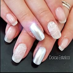 #nudelook  #DolceEstetica #AmorePerSeStessi #shellac #nails #look #creative #nailart