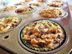 The Cozy Little Kitchen: Delicious Baked Oatmeal Cups for Early Mornings