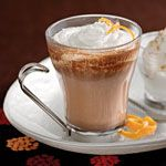 Orange-Scented Mocha - Christmas Party, (holiday drinks recipes)