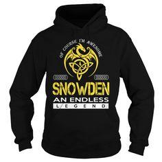 SNOWDEN An Endless Legend (Dragon) - Last Name, Surname T-Shirt