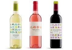 Nuevo diseño en las etiquetas de los vinos jóvenes 2015 - Bodegas Luis Alegre