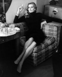 Anita Ekberg's Most Glamorous Looks - Putting a Twist on the Classic LBD from #InStyle