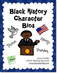 Free research and report writing lesson for Black History Month.The lesson format discourages students from copying and pasting information from their sources.