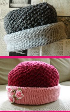 Free Downton hat pattern by Annie Cholewa on Ravelry - created via http://pinthemall.net