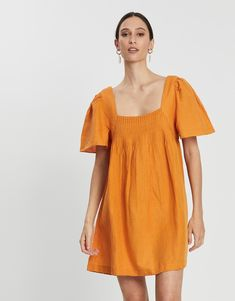 Denisa Dress Dresses Online Australia, Buy Dresses Online, Angel Sleeve, Bodice, Cold Shoulder Dress, Chic, Cotton, Stuff To Buy, Rompers