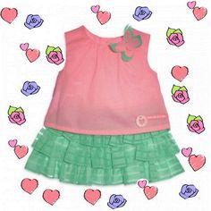 conjuntodeniña AgathaRuizdelaPrada 41,65€ (antes 59,50€) rebajas babyclothes babywear babyfashion bebe modainfantil tiendasbonitas