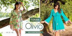 Schnittmuster Tunika Olivia