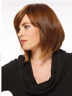Creative Colors A-Line Bob with Highlights Side View