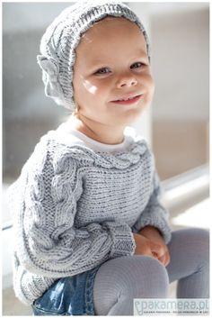 dziewczynka - moda - bluzy - dziewczynka-Sweterek dla dziewczynki