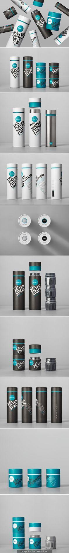Best Packaging Design on the Internet, Grayl Water Filtration Cup #packagingdesign #packaging #design