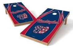 Washington Nationals Single Cornhole Board - The Edge