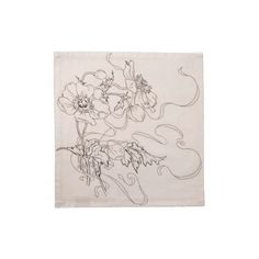 Dinner Napkin - Vintage Botanical Illustration  Cloth napkins – set of 4. Beautiful cotton napkins decorated with a vintage botanic...
