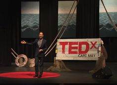 TEDxCapeMay   Cool stage!