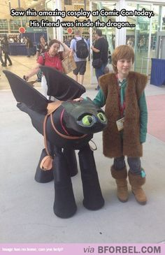 Hiccup And Toothless…