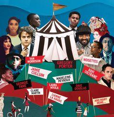 2013 Jazz Festival brochure