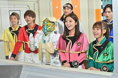 Go Busters, Kamen Rider, Power Rangers, Samurai, Bruno Mars, Fantasy, Fashion, Moda, Fashion Styles