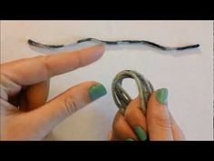 Cosplay Creep: Easy Tail Tutorial Part 1  made from acrylic yarn, so totally animal friendly