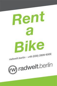 Rent a safe bike bei der Radwelt Berlin