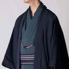 男着物と羽織の2点セット