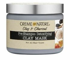 Start your wash day right! Detoxify, cleanse and replenish your natural hair oils with this mineral-rich hair mask. Natural Hair Care Tips, Natural Hair Styles, Creme Of Nature Products, Deep Conditioning Hair Mask, Hair Milk, Organic Blueberries, Beauty Supply Store, Aloe Leaf, Frizz Control