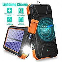 Keep your electronic devices charged during power outages and disasters with a power bank. Here are the best portable solar power banks for bugging out. #portable #powerbank #solarpanels #primalsurvivor #solarpanels,solarenergy,solarpower,solargenerator,solarpanelkits,solarwaterheater,solarshingles,solarcell,solarpowersystem,solarpanelinstallation,solarsolutions,solarenergysystem,solarenergygeneration Solar Charger, Portable Charger, Telecommunication Systems, Portable Solar Power, Solar Installation, Solar Panels, Flashlight, Banks, Electronic Devices