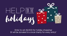 Check out Help for the Holidays 2016 from WEWS-TV - I just entered here! http://contests.newsnet5.com/Help-for-the-Holidays-2016/referrals/f53f6f9a-6f3f-4a1e-8eef-e1914aed64f7