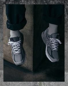 The Pinnacle of Footwear Design: On-Foot with the New Balance - The Drop Date New Balance Outfit, Grey New Balance, New Balance Shoes, The Drop Date, Socks Outfit, Crepes, Designer Shoes, Sneakers Fashion, Me Too Shoes