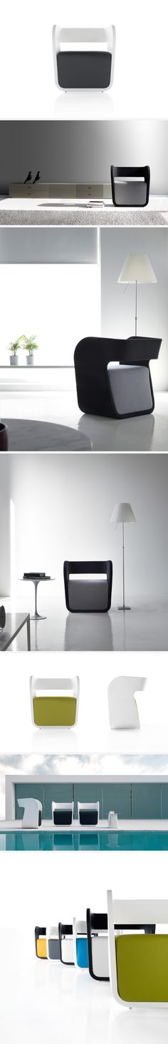 Alma Armchair For Koo International, 2009