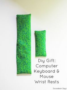 Diy Gift Wrist Keyboard Mouse Rest Handmade For Guys Gifts