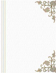 341..Gold corner design paper