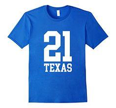 21 TEXAS 21st Birthday Gift T-shirt