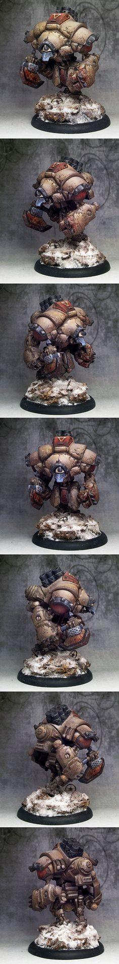 Warmachine Khador Heavy Warjack Juggernaut