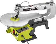 Ryobi 16 In. Corded Powered Variable Speed Wood Scroll Saw Tool #RYOBITechtronicIndustriesCoLtd