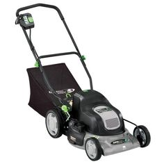 Earthwise 60120 Cordless Electric Lawn Mower Keep harmful exhaust out of the air! Earthwise Cordless Electric Mower runs on renewable energy Gas Lawn Mower, Walk Behind Lawn Mower, Cordless Lawn Mower, Best Riding Lawn Mower, Mowers For Sale, Pergola Pictures, Lawn Equipment, Pergola Designs
