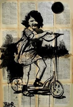 Saatchi Online Artist Loui Jover; Drawing, from little things #art